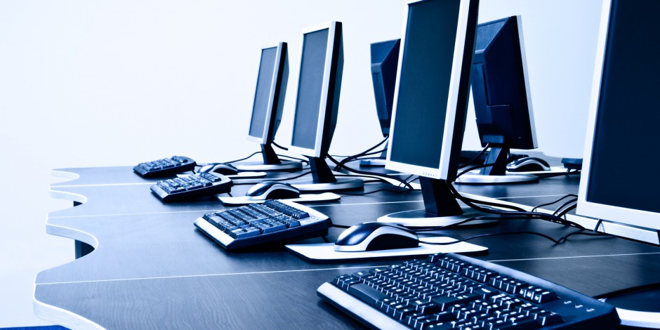 computers workplace